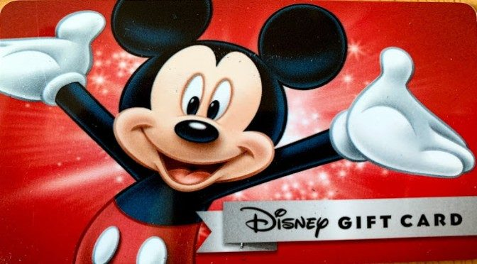 LIMITED TIME DISNEY GIFT CARD SAVINGS