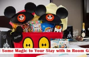 Walt Disney World In-Room Celebrations