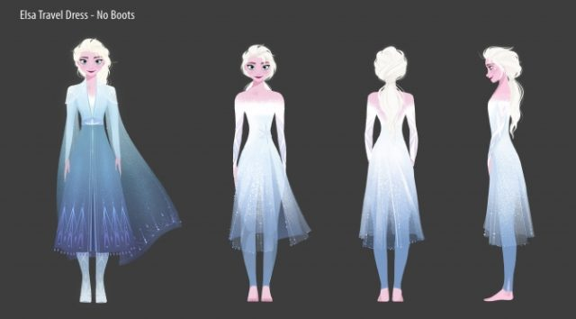 Anna and Elsa Debut Frozen 2 Outfits at Epcot Greet