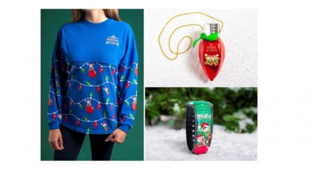 Chip and Dale Featured on 2019 Epcot Festival of the Holidays Merchandise