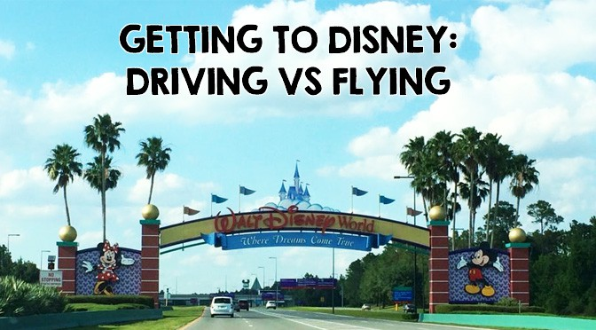 Getting to Disney World: Flying vs Driving