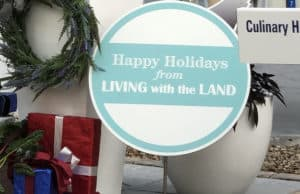 EPCOT'S Living with the Land: New Holiday Overlay