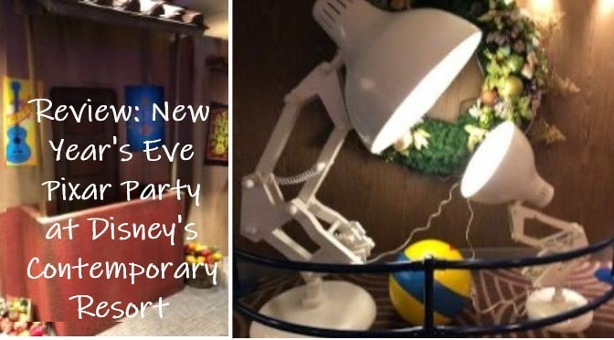 Review: New Year's Eve Pixar Party