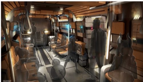 Star Wars: Galactic Starcruiser Transport Pod