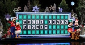 Viewers can Win Disney Prizes on Wheel of Fortune
