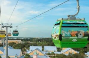 Disney Skyliner Extends Operating Hours for New Year's Eve