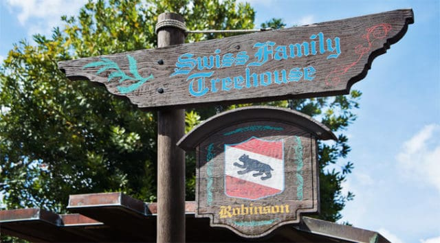 Refurbishment News: Swiss Family Treehouse Undergoing Refurbishment in 2020