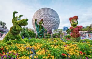 Topiary Displays, Gardens, and Exhibits at Epcot Flower and Garden Festival for 2020