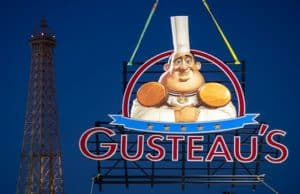 Just Installed in the France Pavilion at Epcot: The New Gusteau's Restaurant Sign