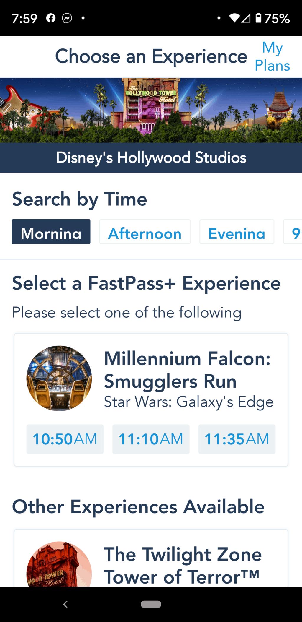 Millennium Falco Fastpass+