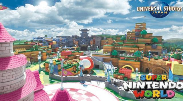Super Nintendo World Coming to Universal Orlando