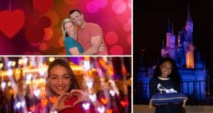 Valentine's Day PhotoPass Opportunities at Walt Disney World Resort