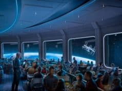 After several days, there is more evidence that Space 220 will open next month. Epcot's newest restaurant promises to be out of this world!