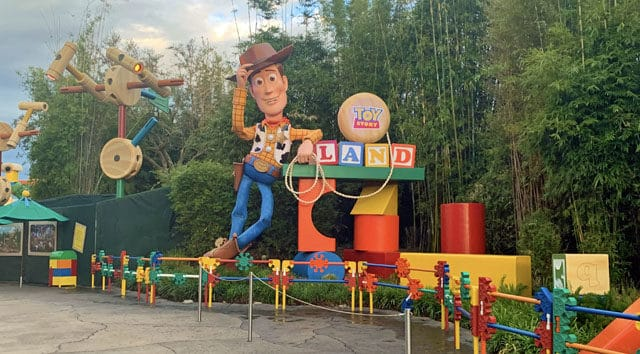 Rope Drop Procedure for Toy Story Land has Changed