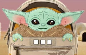 "Coming Soon: ""The Child"" aka Baby Yoda Loungefly Mini Backpack"