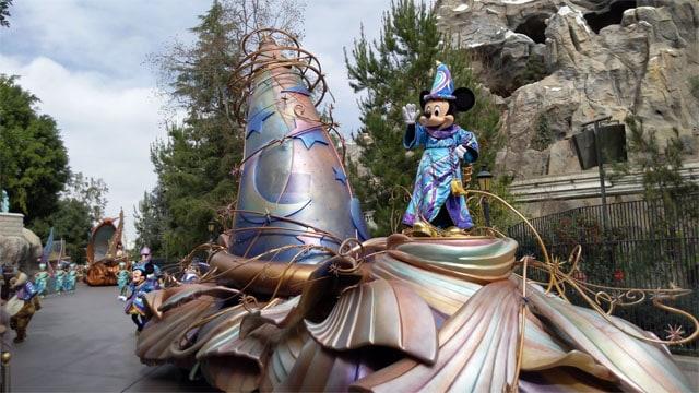 Magic Happens Parade Debuts at Disneyland