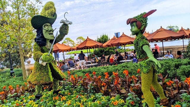 A Sneak Peek At 2020 Epcot Flower and Garden Festival Topiaries