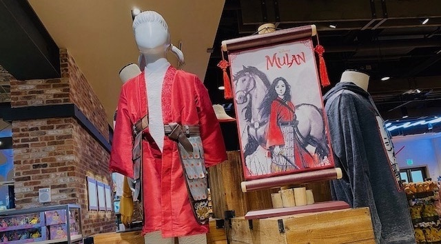Live-Action Mulan Merchandise and Special Screenings