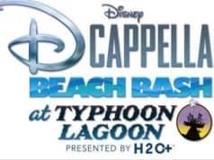 Disney DCapella Beach Bash Coming to Typhoon Lagoon