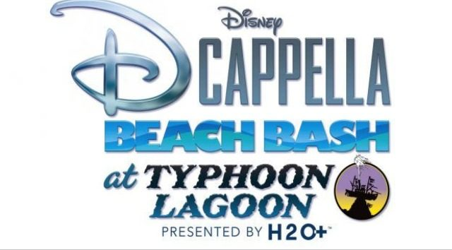 Disney DCapella Beach Bash Coming to Typhoon Lagoon