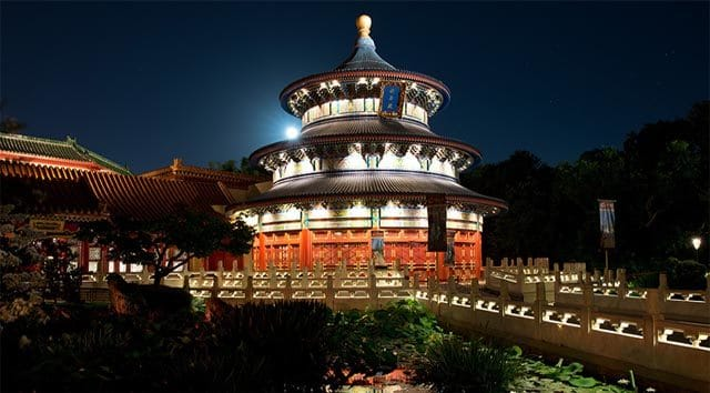 Revisiting the World Showcase and the Customs of Christmas: China