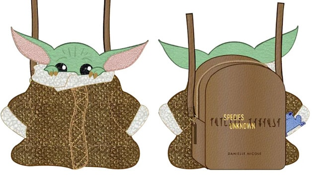 New Baby Yoda Purses and Artwork Available Now and for Pre-Order