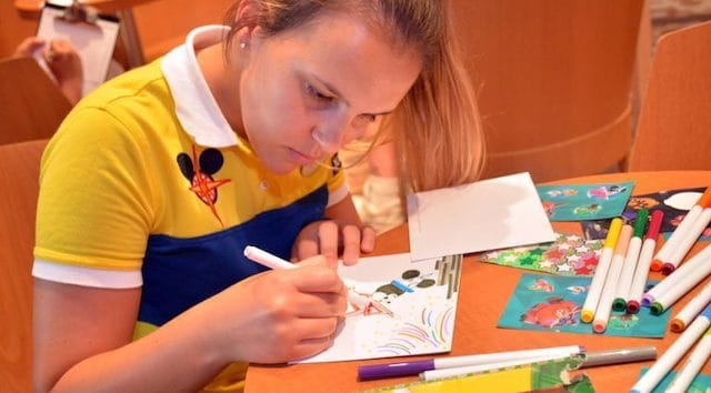 Disney Cruise Line Gives Back