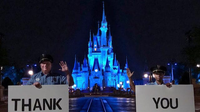 Disney Parks Around The World Thank Health Care Teams