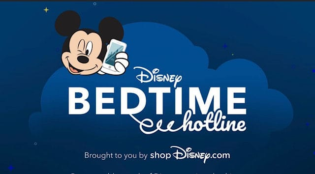 Disney's Bedtime Hotline Is Back With Magical Bedtime Messages