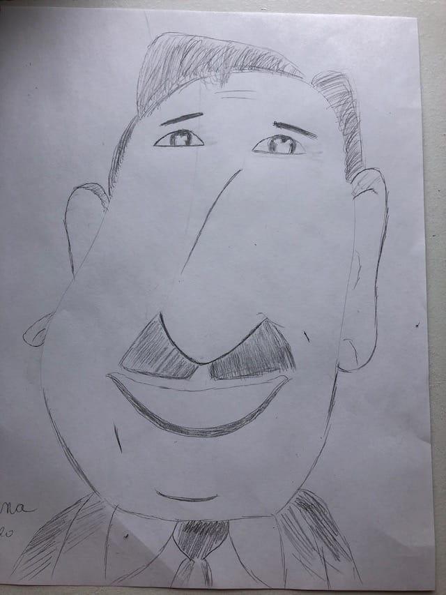 Walt Disney Caricature