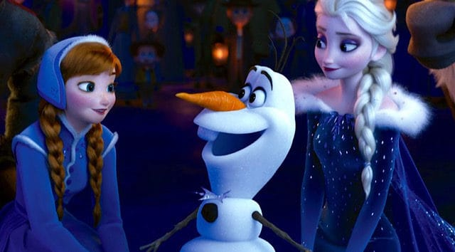 Grab your Tissues and Watch Olaf Perform