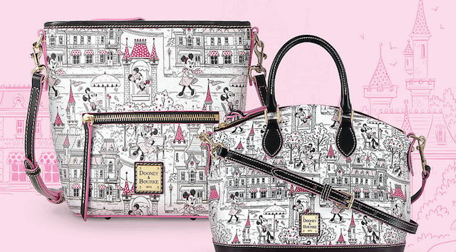NEW Main Street Minnie Mouse Collection by Dooney and Bourke Drops Today!