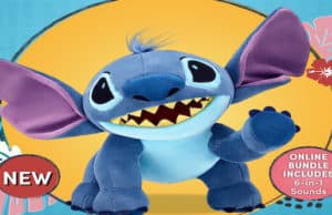 Adorable New Stitch Plush is Now Available at Build-A-Bear