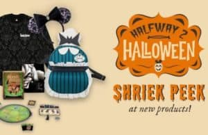 Shriek Peak: New Disney Halloween Merchandise