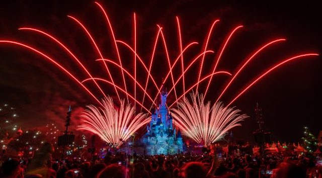 """Watch A Special Virtual Viewing of """"Disney Illuminations"""" from Disneyland Paris"""