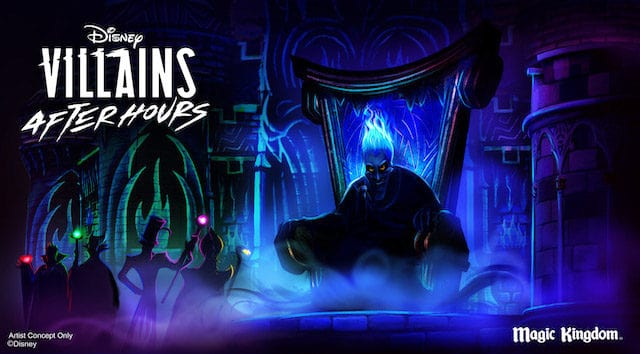 Disney Villains After Hours, Other Special Events, and Dining Reservations Not Available to Purchase in June