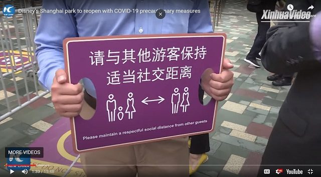 VIDEO: Shanghai Disneyland Vice President Provides a Tour of New Safety Measures for Re-Opening