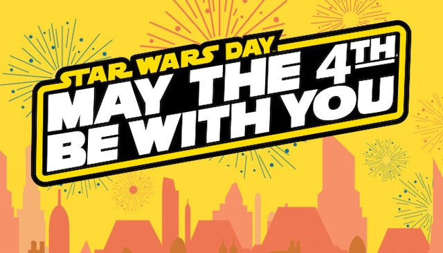 """""""May the 4th Be With You"""" FREE Fun and GREAT Merchandise"""