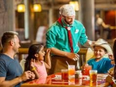 Check out this video of a Whispering Canyon Cafe prank disaster
