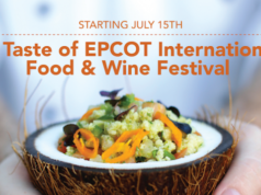Epcot International Food and Wine Festival Extended, Begins in July!
