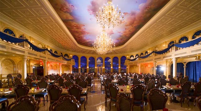 Be Our Guest Will Now Offer Table Service Meals For Lunch and Dinner; Breakfast Will No Longer Be Offered