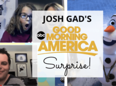 Josh Gad's Surprise on Good Morning America