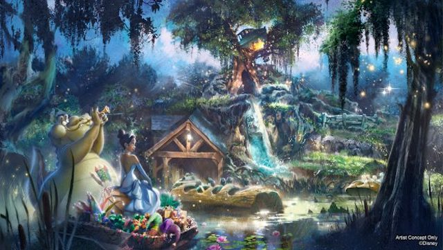 A New Update for Splash Mountain Retheming and More Inclusion Projects will Happen