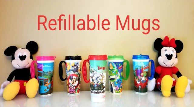 5 Reasons to Purchase a Refillable Mug at Walt Disney World