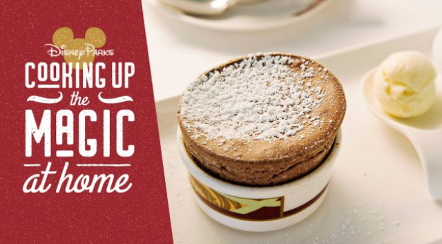 Disney Cruise Line Shares Recipe for Palo Chocolate Soufflé