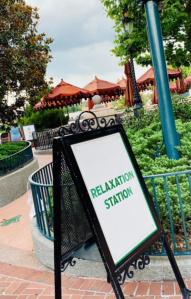 Disney World Relaxation Station