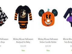 Halloween Merchandise Now Available on shopDisney.com