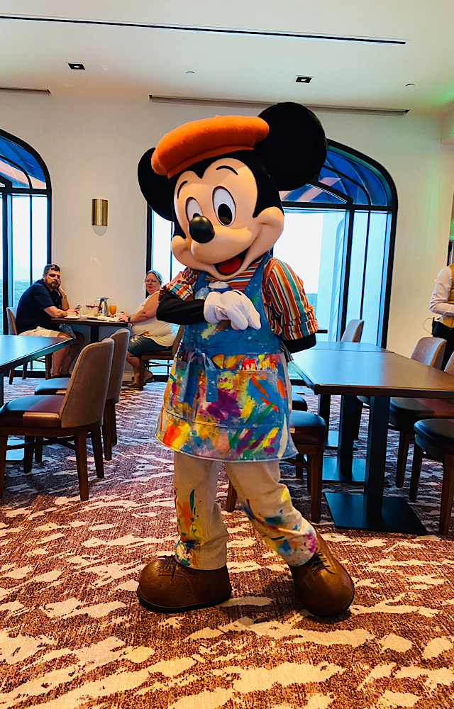Modified Character Experience at Topolino's Terrace