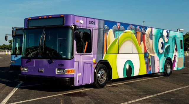 First Look at Safety Measures in Place on Disney Transportation