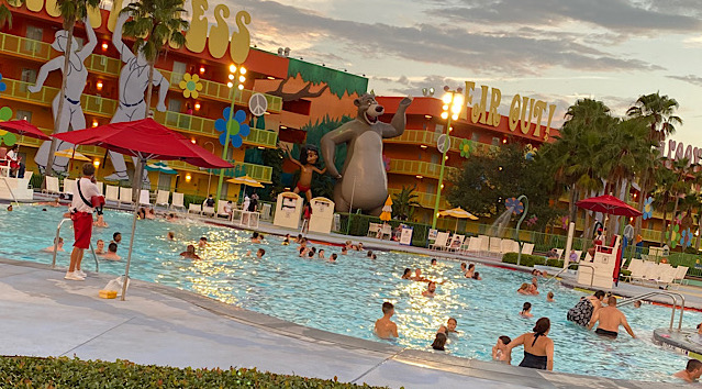 Walt Disney World Updates Operating Hours for Resort Feature Pools